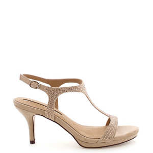 ee3511bff4fc Béžové sandály na nízkém podpatku MARIA MARE